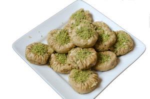 Watan Kabob's Asawar with fresh Pistachio